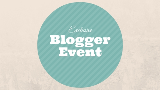 Blogger Event sign